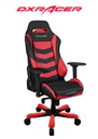 DXRACER CHAIR IRON BLACK/RED