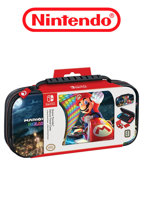 NS Mario Kart Deluxe Game Travel Case