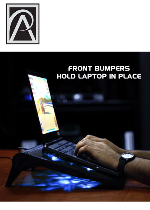 Laptop Cooling Stand – Blue (ENHANCE)