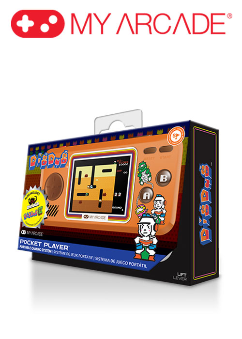 DIG DUG POCKET PLAYER