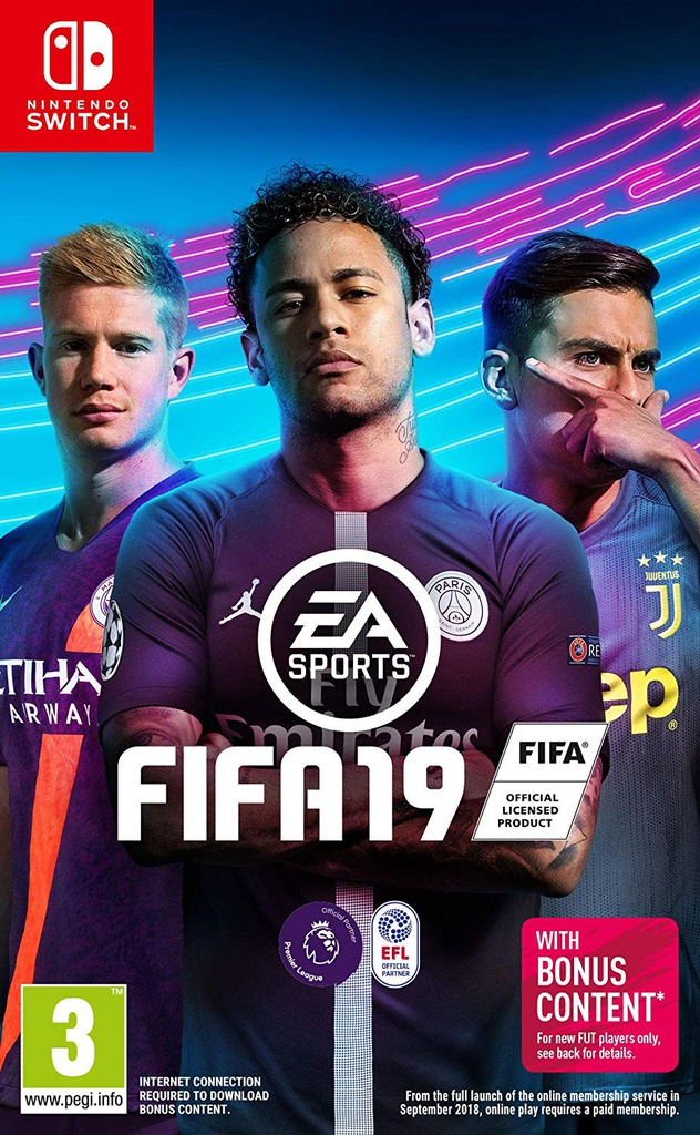 NS FIFA 19 PAL Arabic