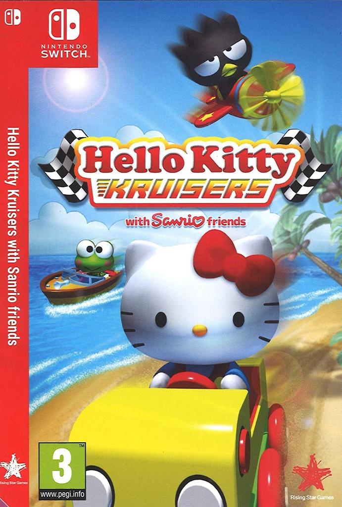 NS Hello Kitty Kruisers With Sanrio Friends PAL