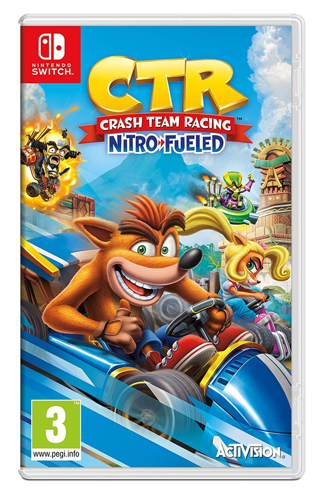 NS Crash Team Racing - Nitro Fueled PAL
