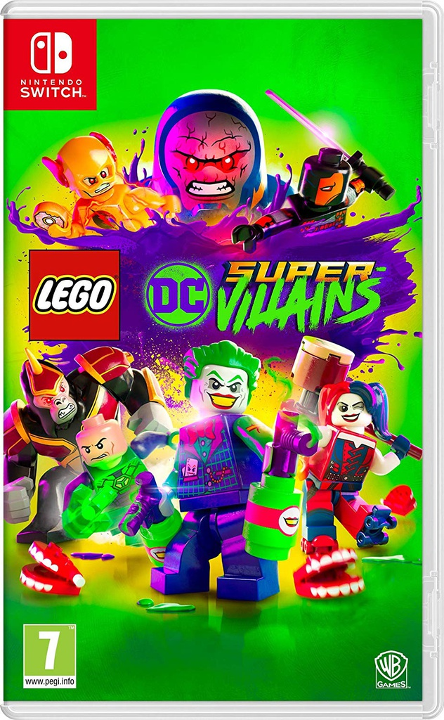 NS Lego DC Super Villains PAL