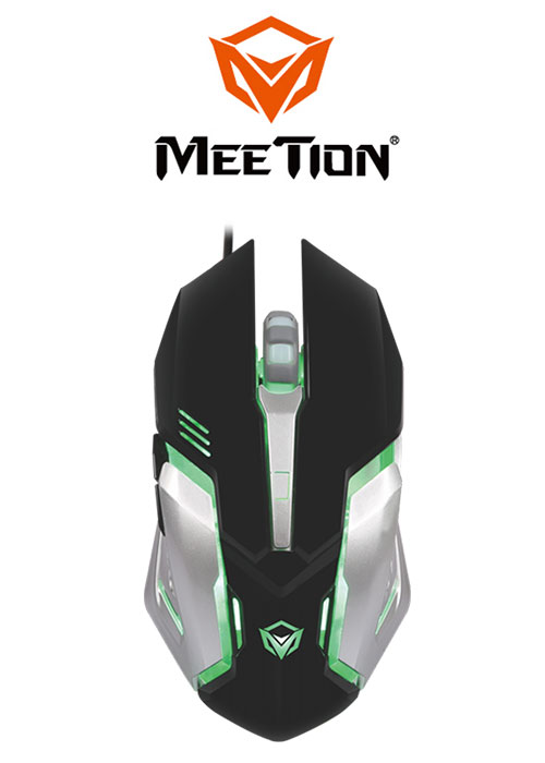 Meetion M915 Gaming Mouse- Black