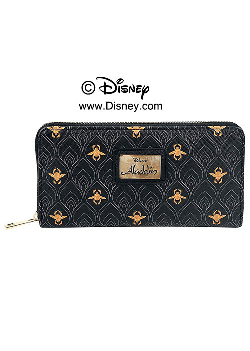 Disney - Aladdin - AOP Ladies ZIP Around Wallet