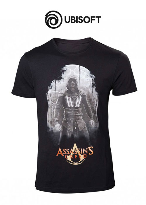 Assassin's Creed Movie - Aguilar on Black T-shirt - XL