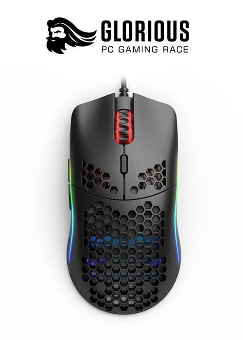 Glorious Model O- RGB Gaming Mouse - Matte Black
