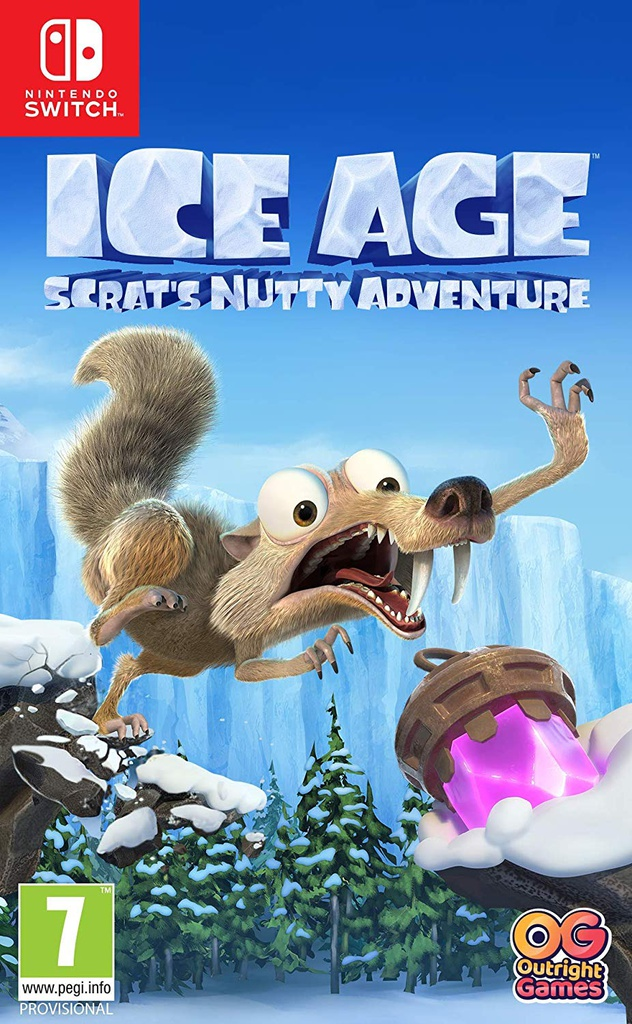 NS Ice Age Scrat's Nutty Adventure PAL