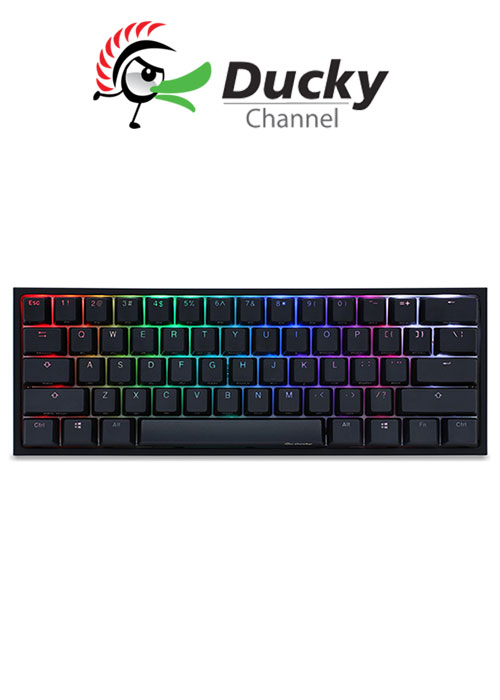 Ducky One 2 Mini RGB Gaming Keyboard - Blue Switch