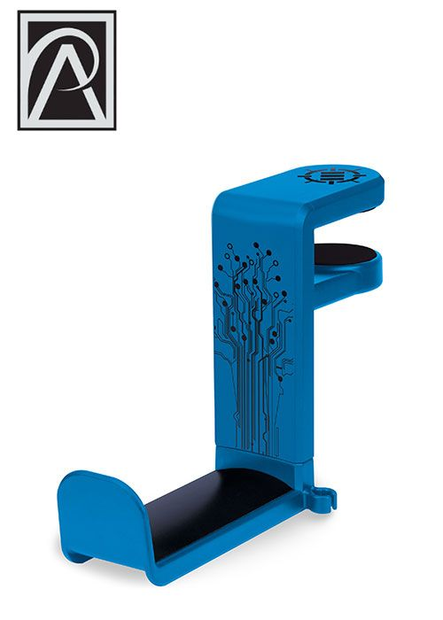 ENHANCE Rotating Headphone Mount - Blue