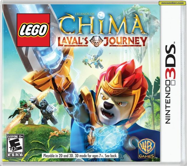 3DS LEGO LEGENDS OF CHIMA LAVALS JOURNEY NTSC