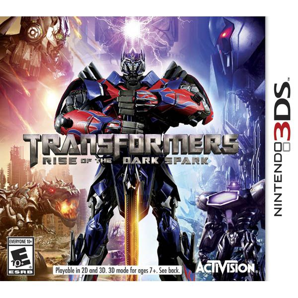 3DS Transformers Rise of the Dark Spark NTSC
