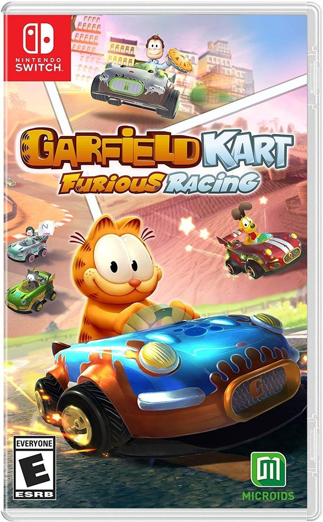 NS Garfield Kart: Furious Racing NTSC