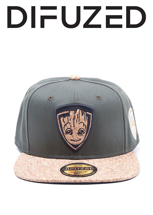Guardians of the Galaxy 2 - Groot Character Snapback Cap
