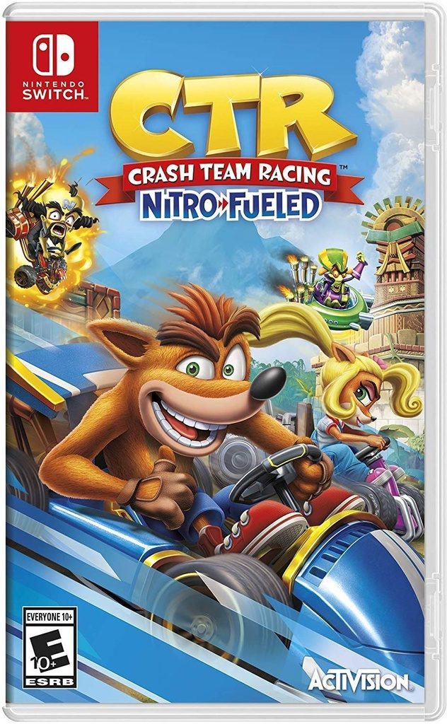 NS Crash Team Racing - Nitro Fueled NTSC