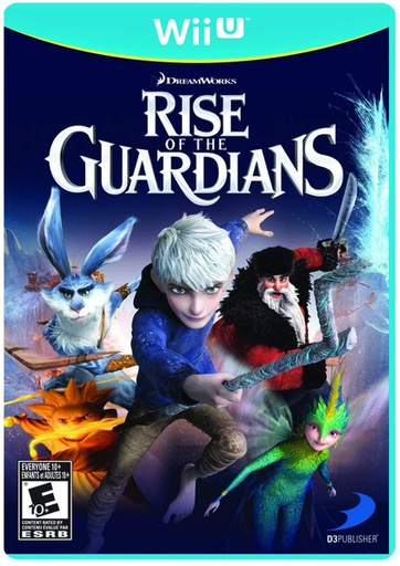 [1586] Wii U Rise of the Guardians