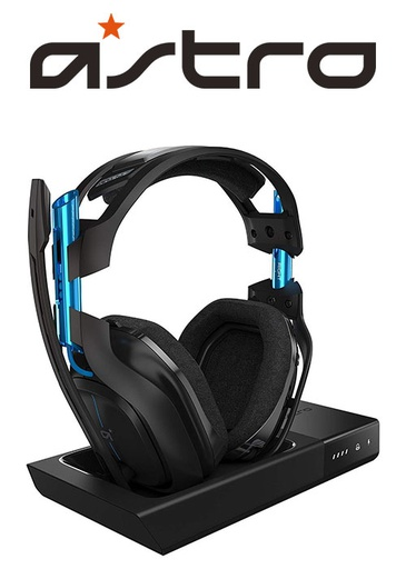 [203371] ASTRO PS4 A50 Wireless Dolby Gaming Headset Black/Blue