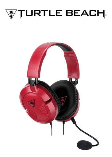 [203896] Turtle Beach PC/NS Ear Force Recon 50 Wired Headset Red