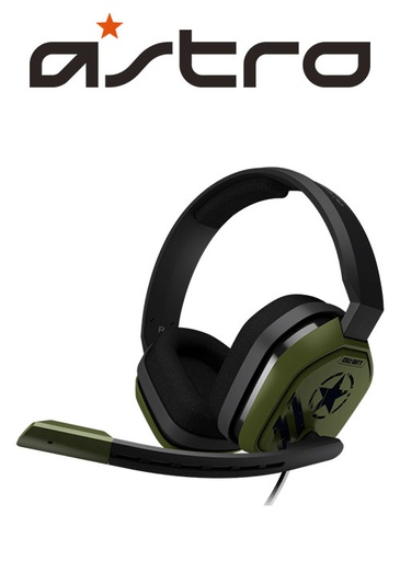 [203937] ASTRO PS4 A10 Gaming Headset COD Edition Black/Green