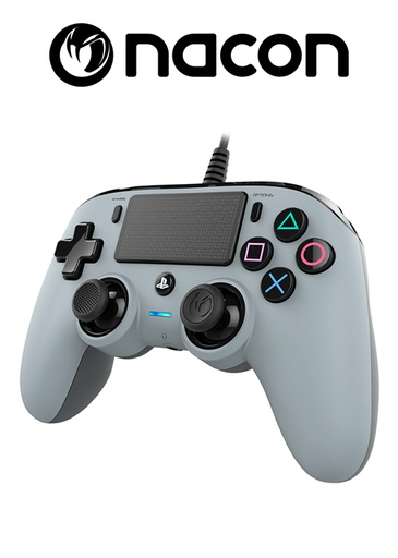 [204094] Nacon PS4 Wired Compact Controller Grey