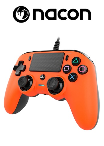 [204095] Nacon PS4 Wired Compact Controller Orange