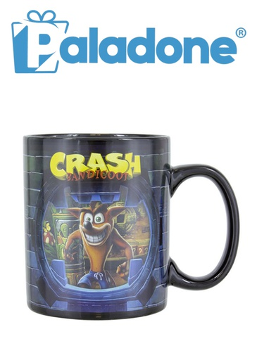 [204240] Paladone Crash Bandicoot Heat Change Mug