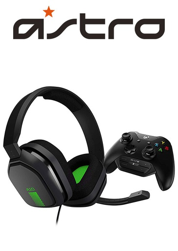 [204320] ASTRO XB1 A10 Gaming Headset With Controller Mounted MixAmp M60 Black/Green