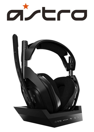[434507] ASTRO PS4 A50 Gen 4 Wireless Headset Black