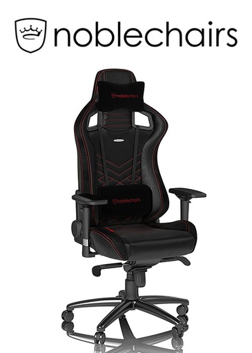[675947] Noblechairs EPIC Series - Black/Red