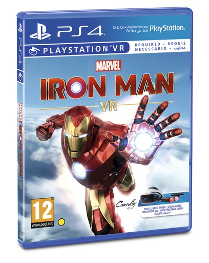 [S675978] PS4 Iron Man VR R2
