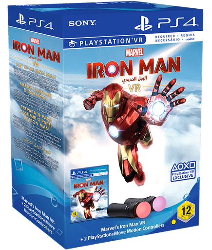 [S675979] PS4 Iron Man VR + Move Twin pack R2